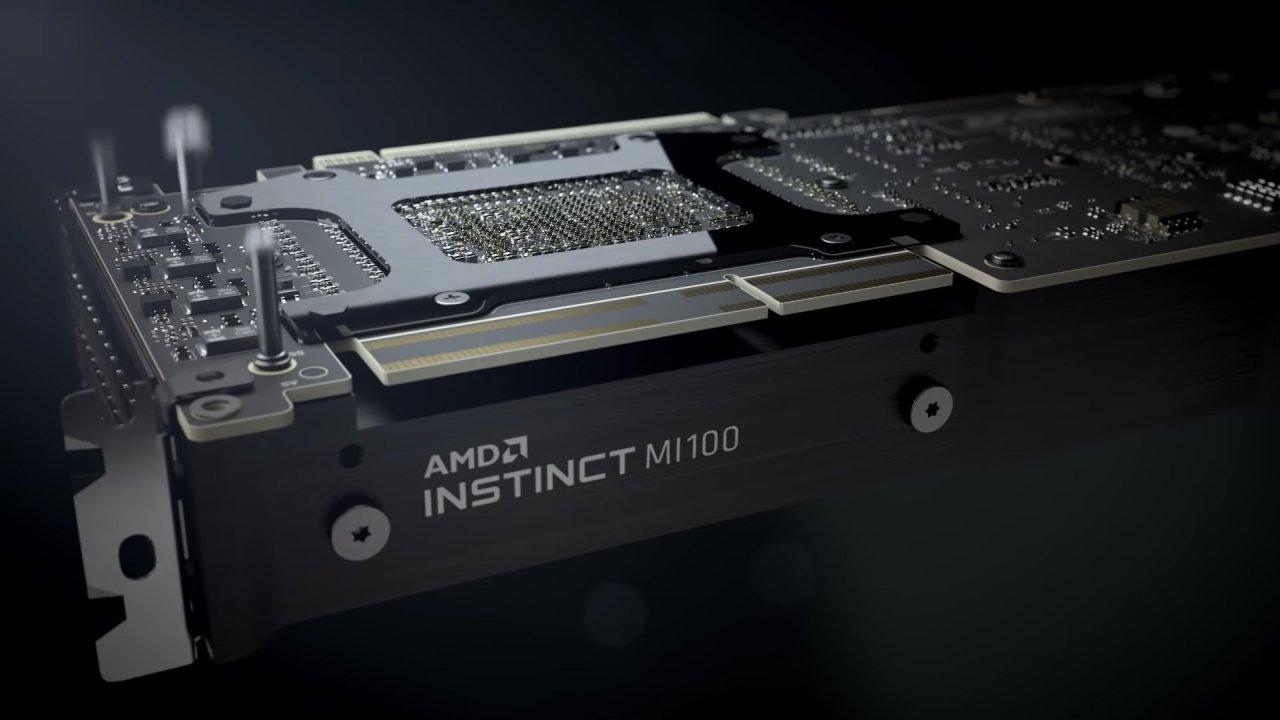 AMD Instinct MI100 är första beräkningskortet med arkitekturen CDNA