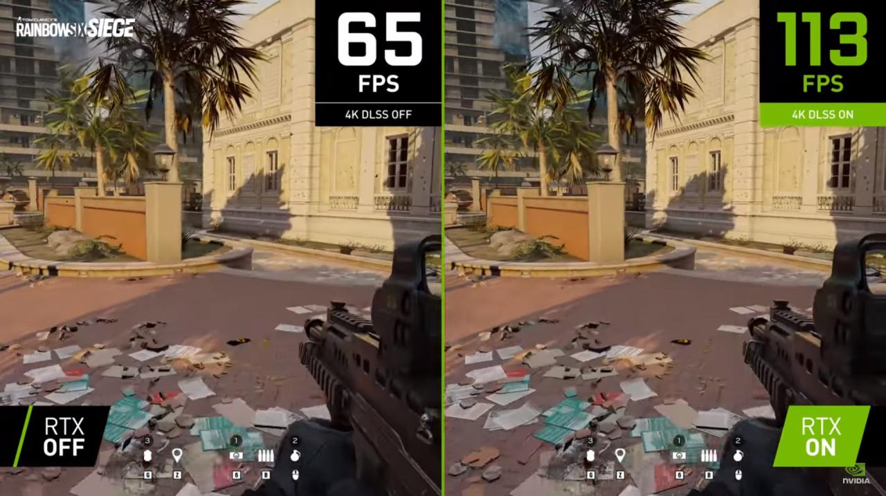 Nvidia smyger ut DLSS 2.2 i uppdatering till Rainbow Six Siege