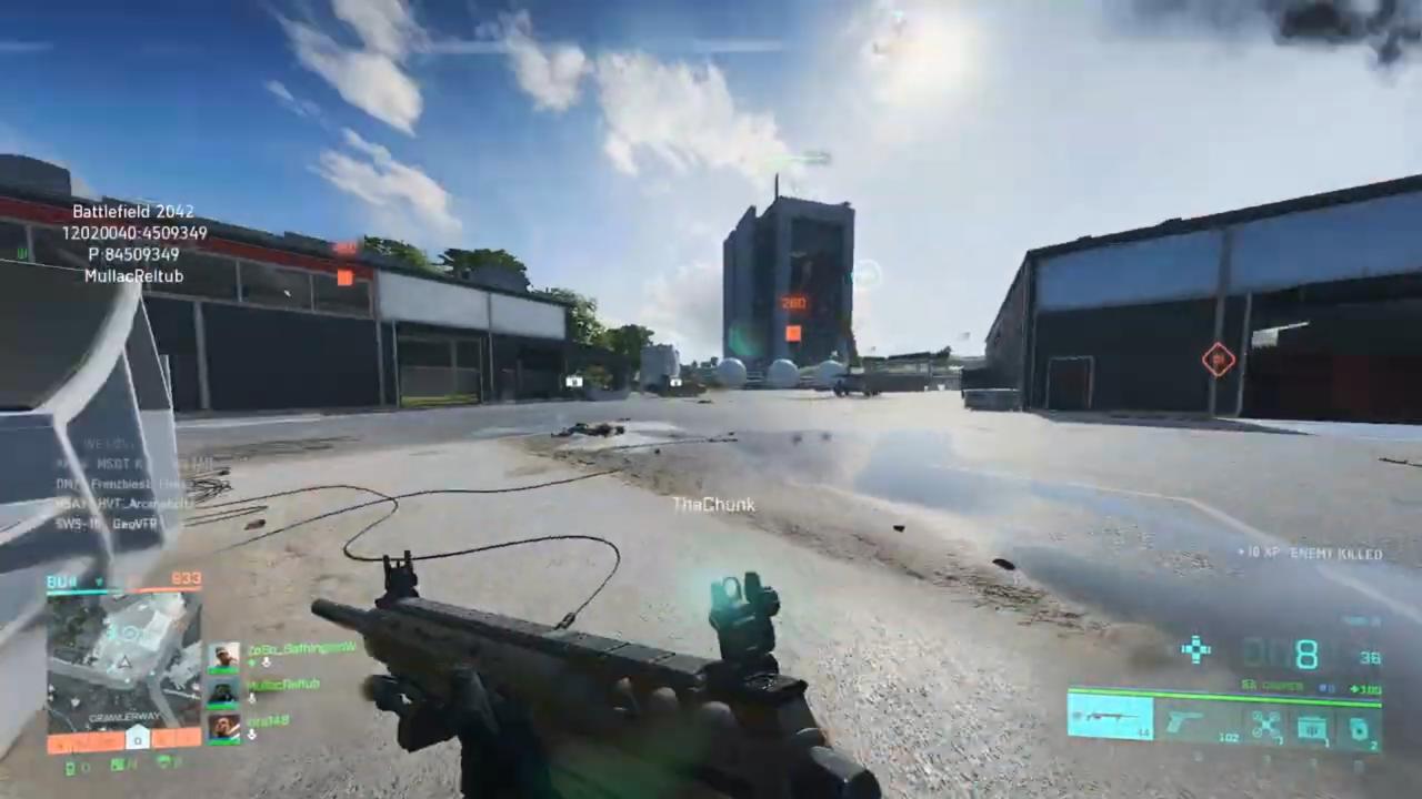 Battlefield 2042 gameplay läcker ut på webben