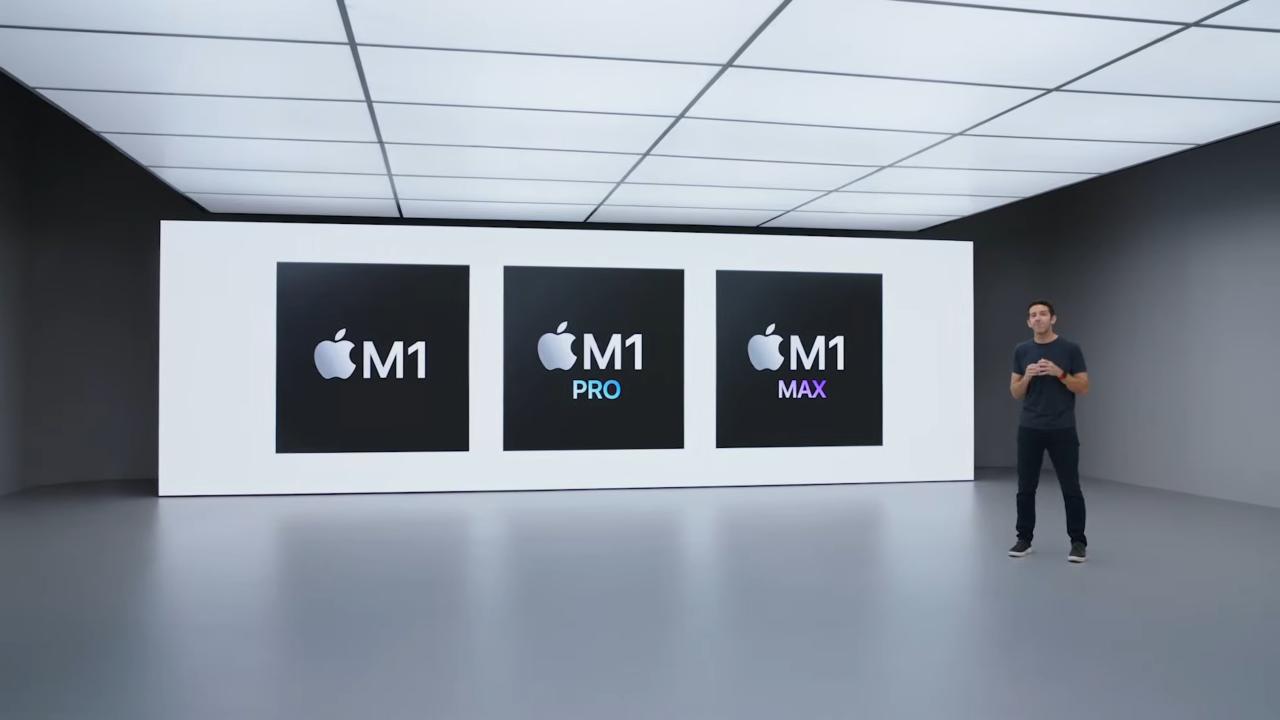 Apple skalar upp M1-systemkretsen till proffsnivå