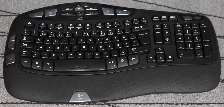Logitech Cordless Desktop Wave - Test - Tangentbordet 628b9ca38f4bd